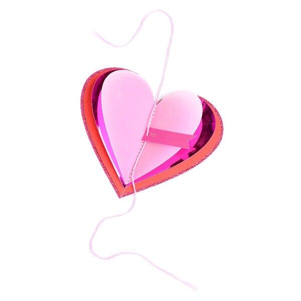 Décoration cadeau Cœur, rose