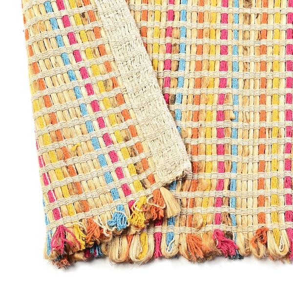 Handgefertigter Teppich DEPOT Anna, pastell