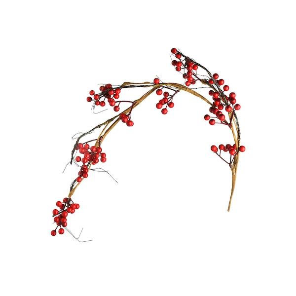 Girlande Beeren, rot