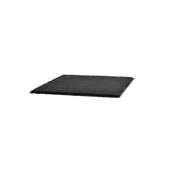 Schieferplatte, schwarz