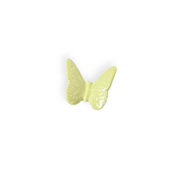 Dekofigur Schmetterling, hellgrün