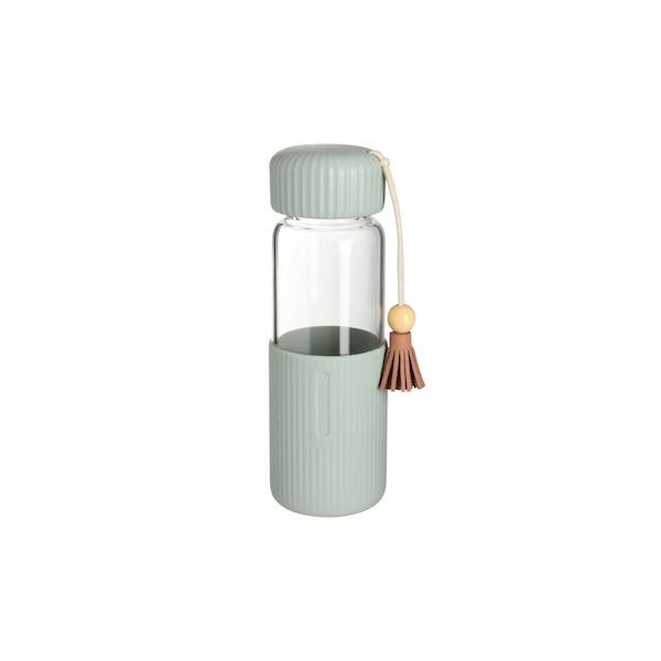 Trinkflasche Quaste, graugrün