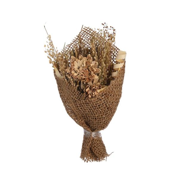 Trockenblumen Bouquet, bunt