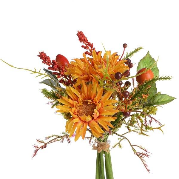 Blumenbündel Aster, orange