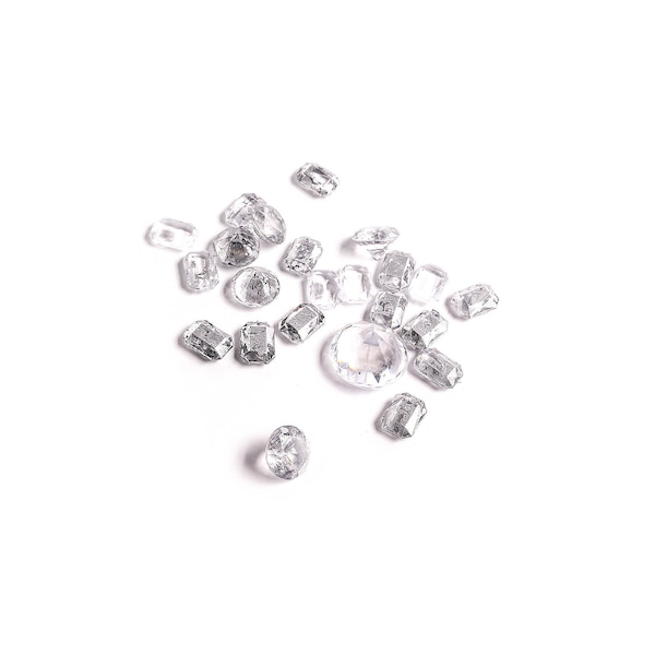 Streuartikel Diamanten Shabby, silber