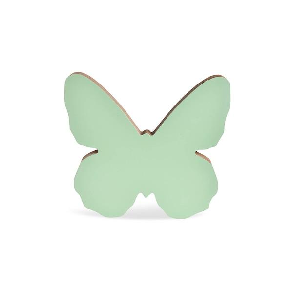 Dekofigur Schmetterling, blaugrün