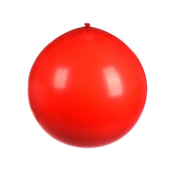 Luftballon XXL, rot