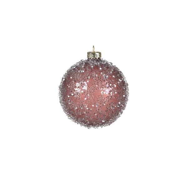 Weihnachtskugel Glimmerpearls, hellflieder