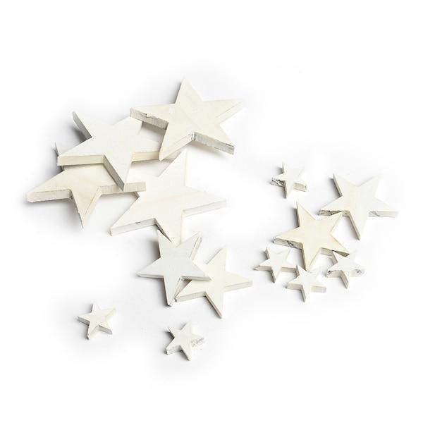 Streuartikel Sterne, weiß