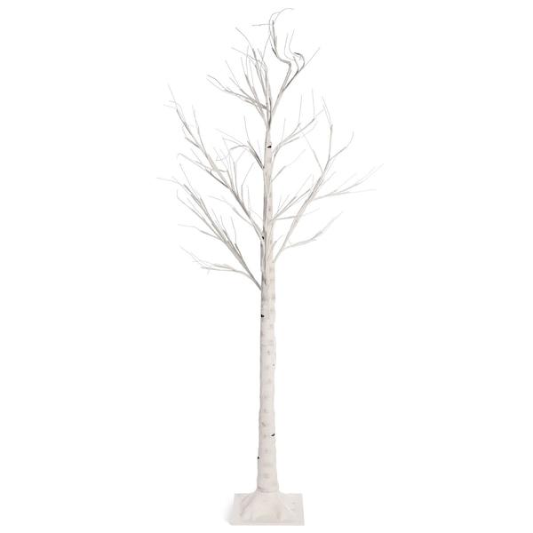 Outdoor-Leuchtobjekt Birkenbaum, 72 LED, weiß