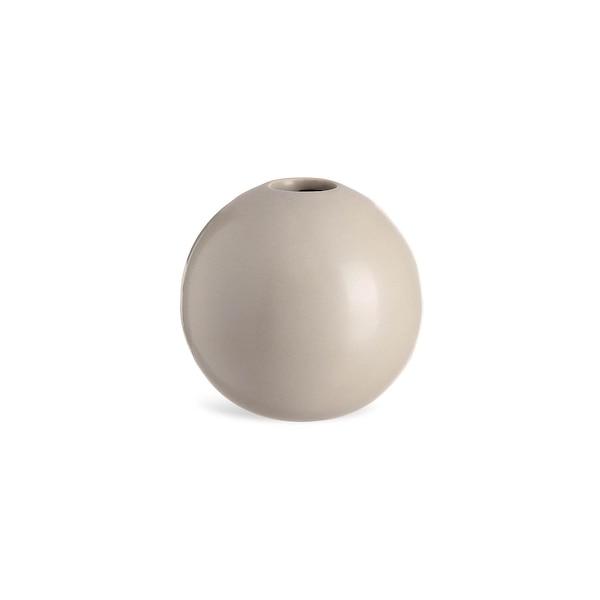 Vase sphérique, gris