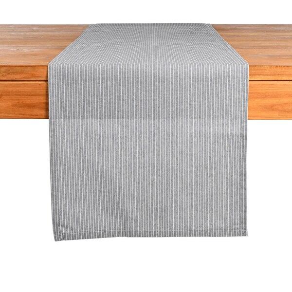 Tischläufer Fine Stripe, blau