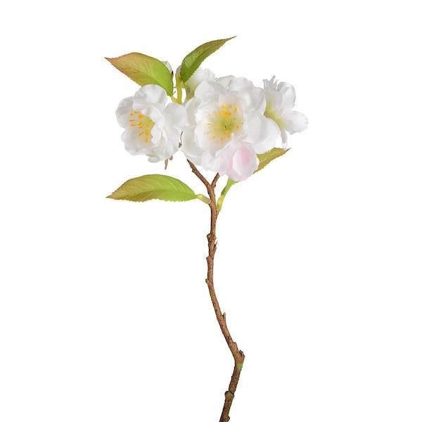 Kunstzweig Kirschblüte, blanc