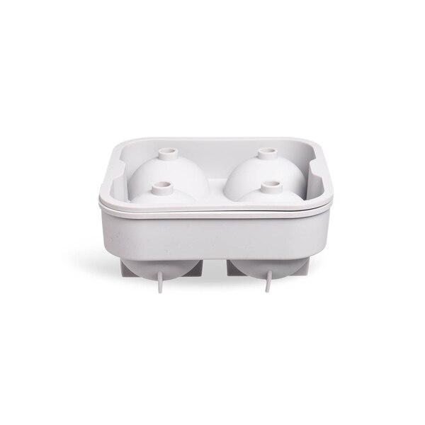 Eiswürfelform Kugel, taupe