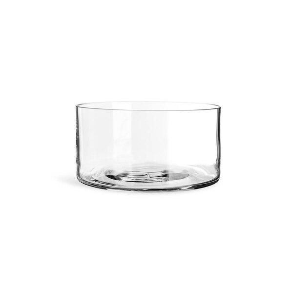 Dekoschale aus Glas, klar