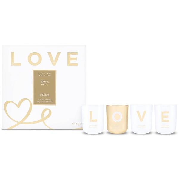 ipuro Duftkerzen-Set Limited Edition, Love, ohne Farbe