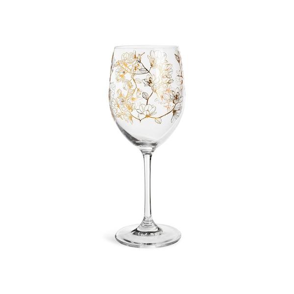 Weinglas Magnolia, gold