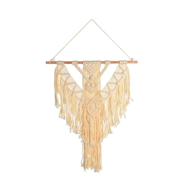 Wandbehang Makramee, natur