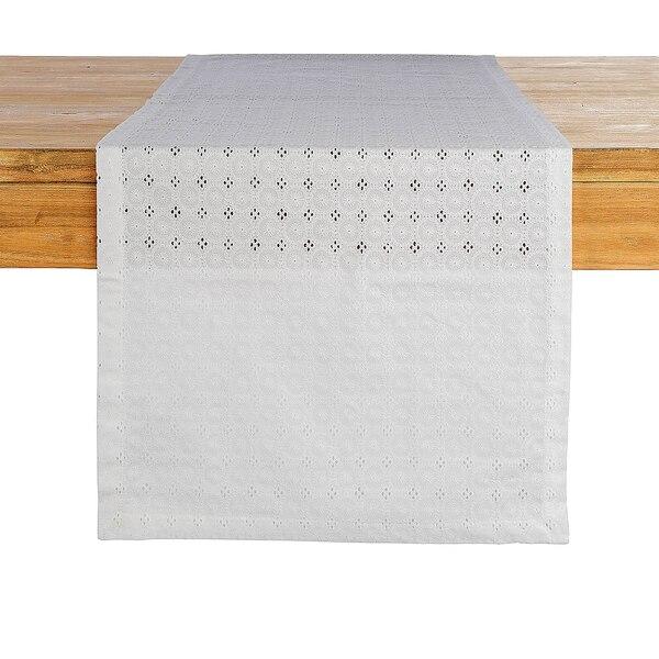 Tischläufer White Lace, weiß