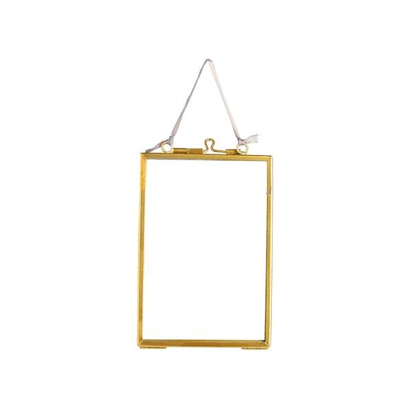Mini-Bilderrahmen zum Hängen, gold