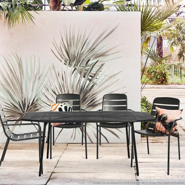 Formschöne Outdoormöbel