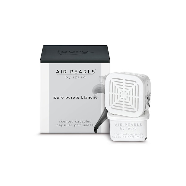 ipuro Duftkapseln Air Pearls,  pureté blanche, ohne Farbe