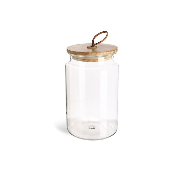 Vorratsglas, klar
