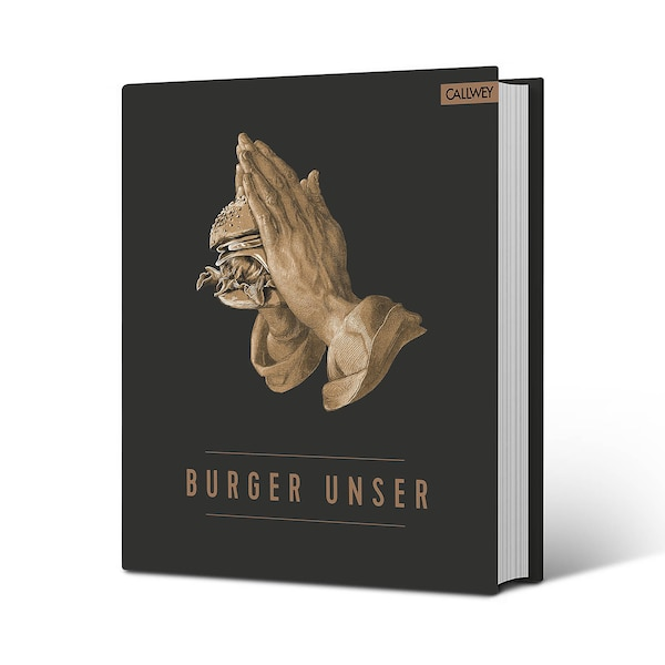 Buch Burger Unser, schwarz