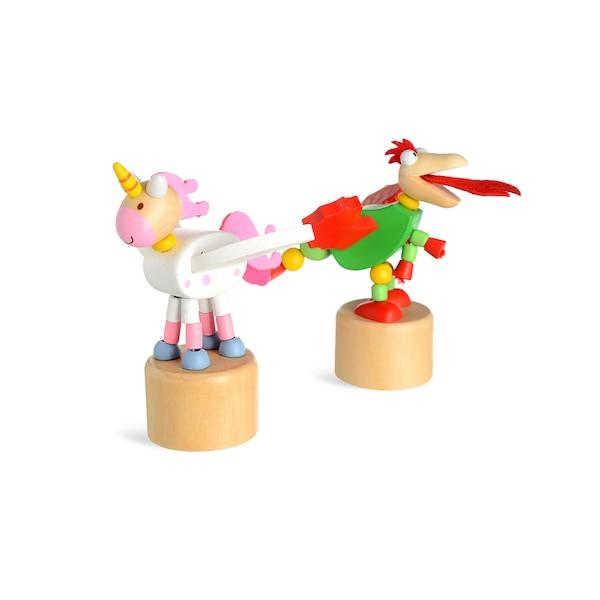 Figurine animal, multicolore