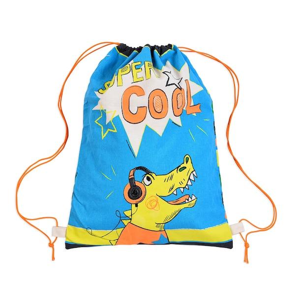 Rucksack Super Cool, bunt