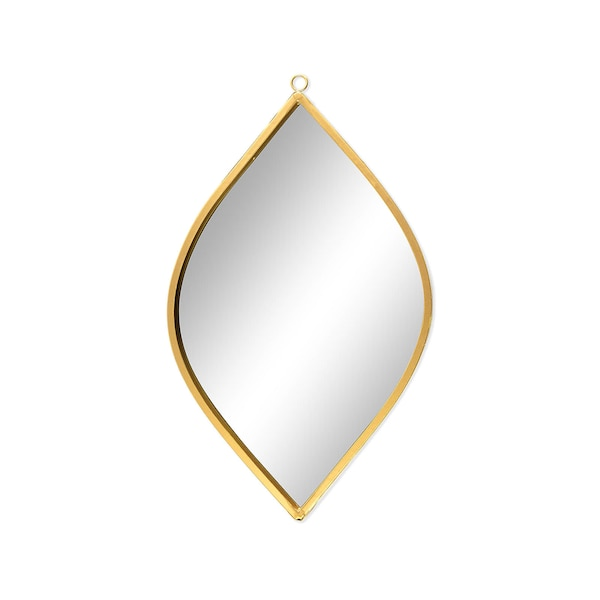 Wandspiegel Ornament, gold