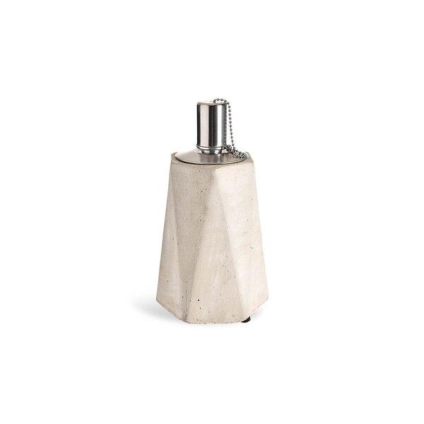Lampe à huile, gris