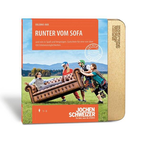 Erlebnis-Box 'Runter vom Sofa', bunt