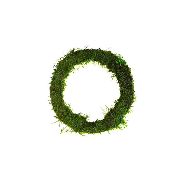 Kranz aus Moos , grün
