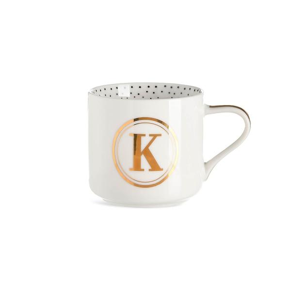 Tasse K, weiß
