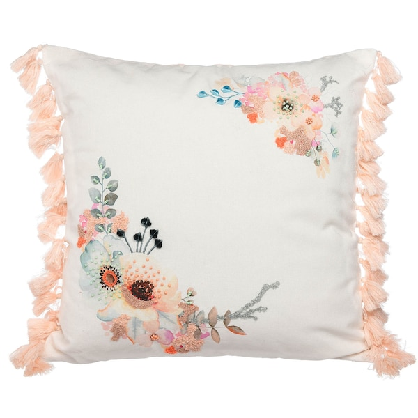 Kissenhülle Romantic Flower, pastell