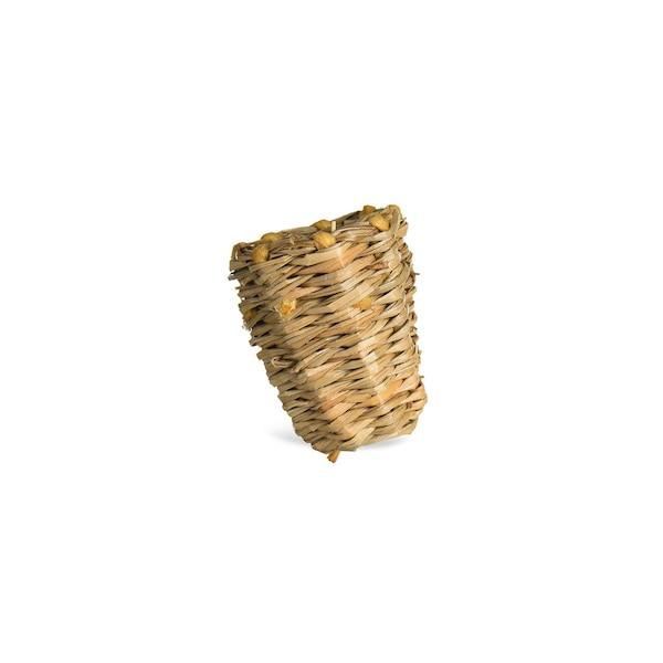 Vase Weide auf Clip, natur