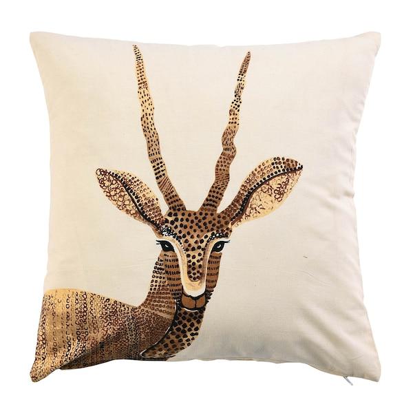 Kissenhülle Antilope, natur