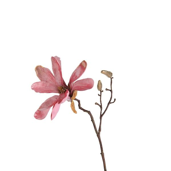 Kunstblume Mangnolie, rosa
