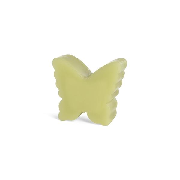 Motivkerze Schmetterling, hellgrün