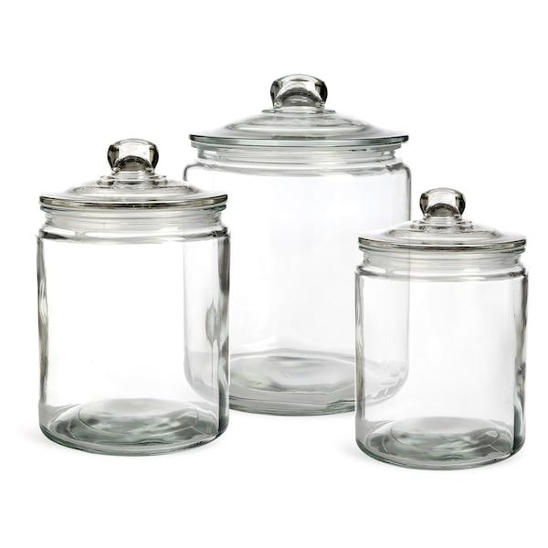 Vorratsglasset, 3-teilig, klar