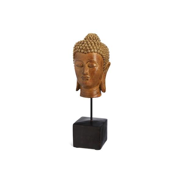 Buddha auf Fuß, gold