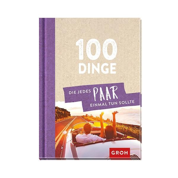 Buch 100 Dinge, die jedes Paar einmal tun sollte, ohne Farbe