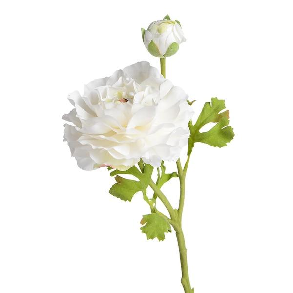 Kunstblume Ranunkel, weiß
