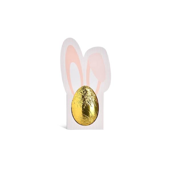Schokoladen-Ei, ohne Farbe