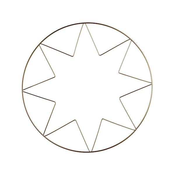 Metallring Stern, gold