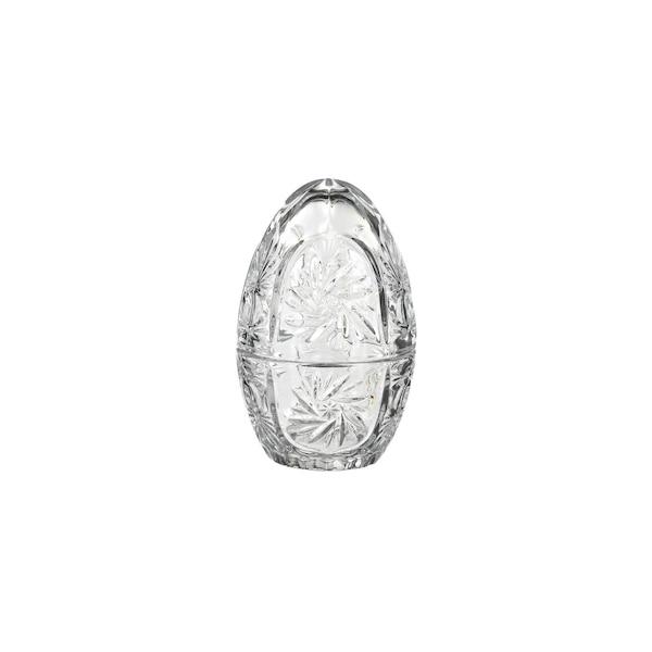 Dekoobjekt Ei aus Glas, klar