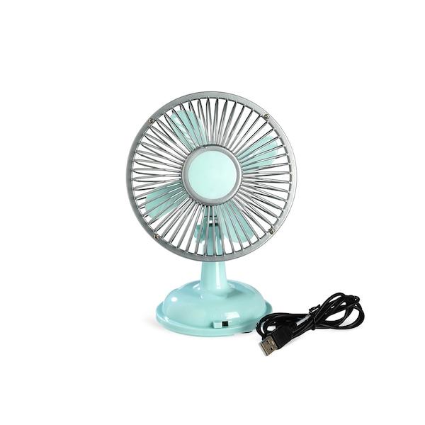 Mini-Ventilator Vintage, mintgrün