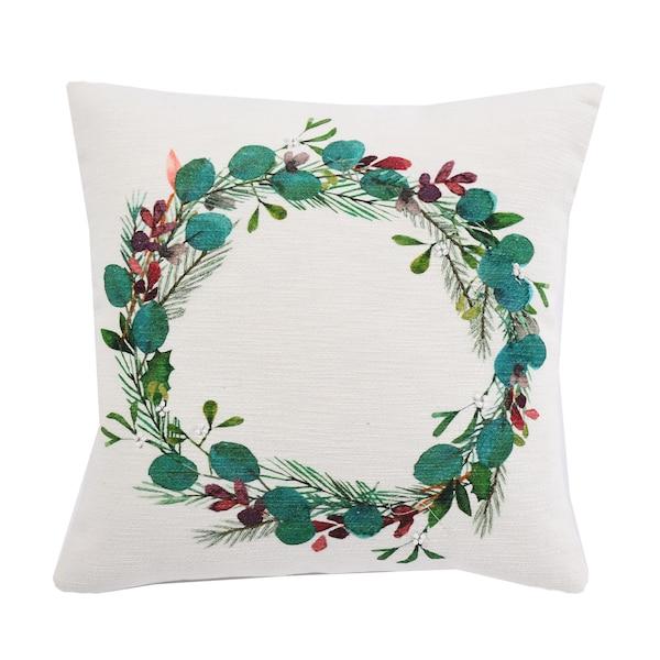 Kissenhülle Wreath, grün