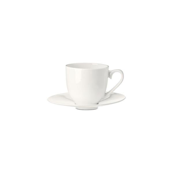 Tasse à expresso Pure avec sous-tasse, blanc